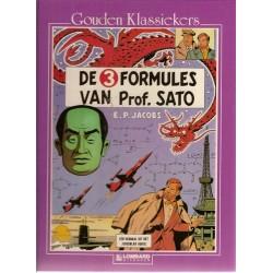 Blake & Mortimer Gouden klassiekers 10 HC De 3 formules van Professor Sato 1