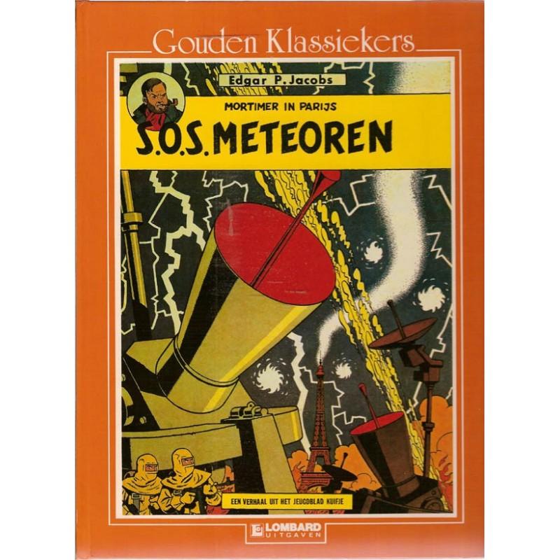 Blake & Mortimer Gouden klassiekers 07 HC S.O.S. Meteoren