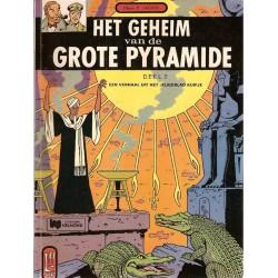 Blake & Mortimer L04 Het geheim van de Grote Pyramide 2 herdruk Helmond
