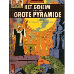 Blake & Mortimer L04 Het geheim van de Grote Pyramide 2 1e druk 1967 Helmond