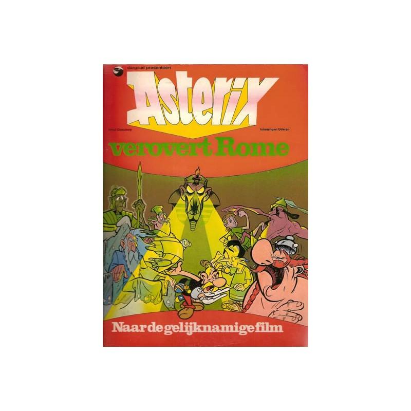 Asterix Filmboek Verovert Rome filmboek 1e druk 1976