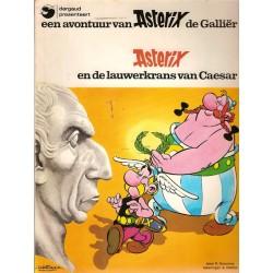 Asterix 18 De lauwerkrans van Caesar 1e druk 1977 met titellijst