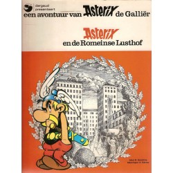 Asterix 17 De Romeinse lusthof 1e druk 1976 zonder titellijst