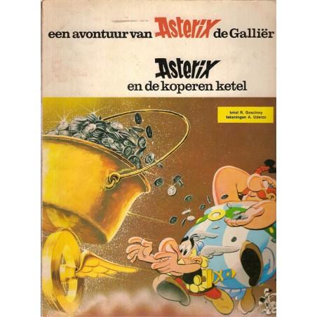 Asterix 13 De koperen ketel herdruk AB 1972