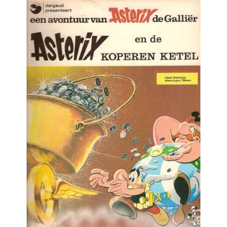 Asterix 13 De koperen ketel 1e uitgave Dargaud 1976