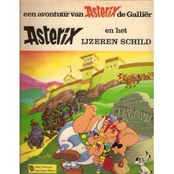 Asterix 11 Het ijzeren schild herdruk GP 1972