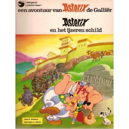 Asterix 11 Het ijzeren schild herdruk Dargaud
