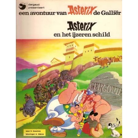 Asterix 11 Het ijzeren schild 1e uitgave Dargaud 1981