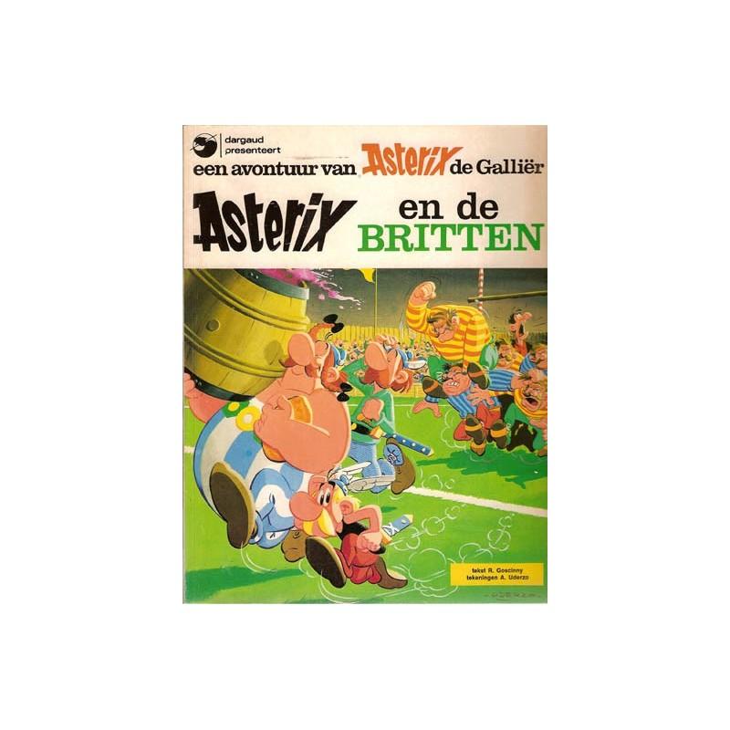 Asterix 08 De Britten 1e uitgave Dargaud 1977