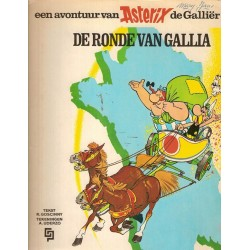 Asterix 05 De ronde van Gallia herdruk AB 1971