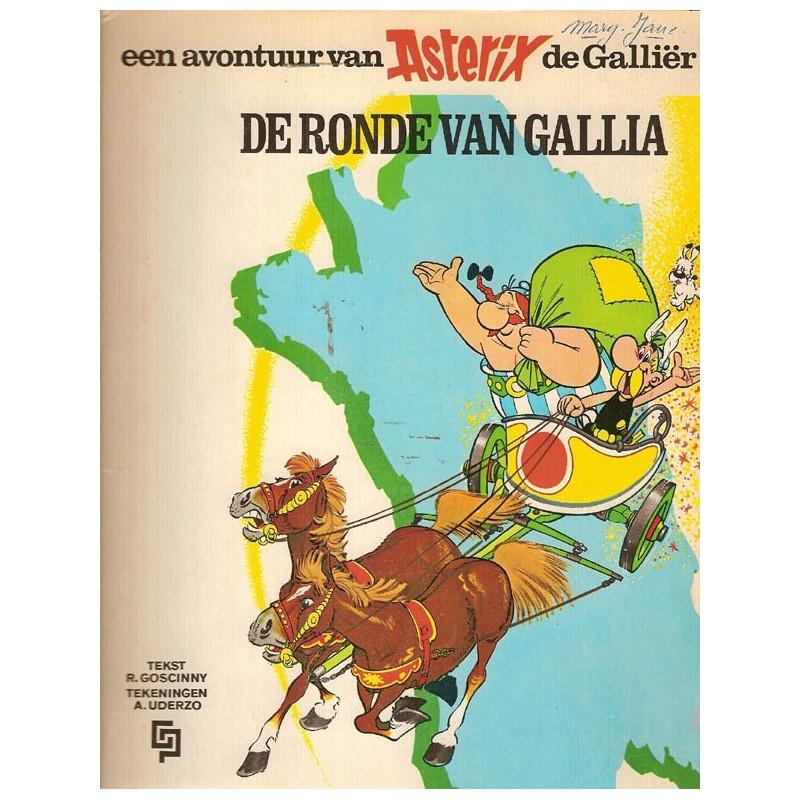 Asterix 05 De ronde van Gallia herdruk GP 1971