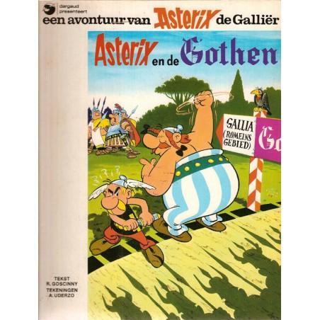 Asterix 03 De Gothen 1e uitgave Dargaud 1977