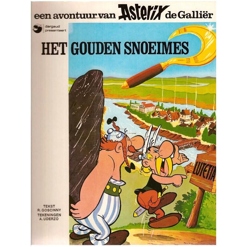 Asterix 02 Het gouden snoeimes herdruk Dargaud
