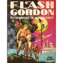 Flash Gordon set Oberon deel 1 t/m 4 1e drukken 1980-1982