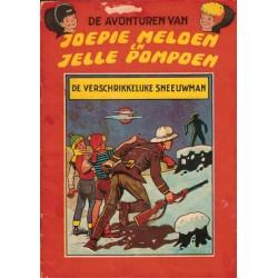 Joepie Meloen en Jelle Pompoen 04 De verschrikkelijke sneeuwman 1e druk 1964