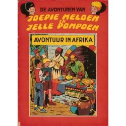 Joepie Meloen en Jelle Pompoen 03 Avontuur in Afrika 1e druk 1964