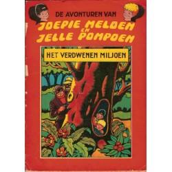 Joepie Meloen en Jelle Pompoen 01% Het verdwenen miljoen 1e druk 1964