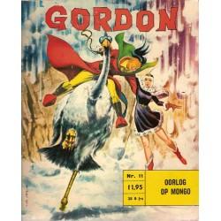 Flash Gordon N11 Oorlog op Mongo 1e druk 1968