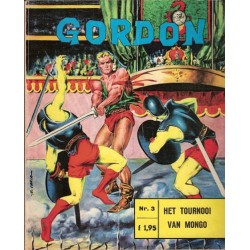 Flash Gordon N03 Het toernooi van Mongo 1e druk 1967