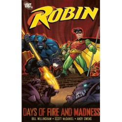 Robin: Days of fire and Madness TPB Engelstalig first printing 2006