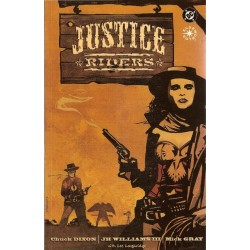 Justice Riders TPB Engelstalig first printing 1997