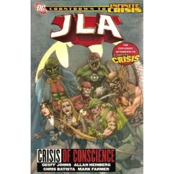 JLA Crisis of conscience TPB Engelstalig first priting 2006