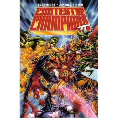 Contest of Champions 02 TPB Engelstalig first printing 2001
