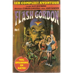 Flash Gordon set JP deel 1 t/m 3 1e drukken 1979-1981