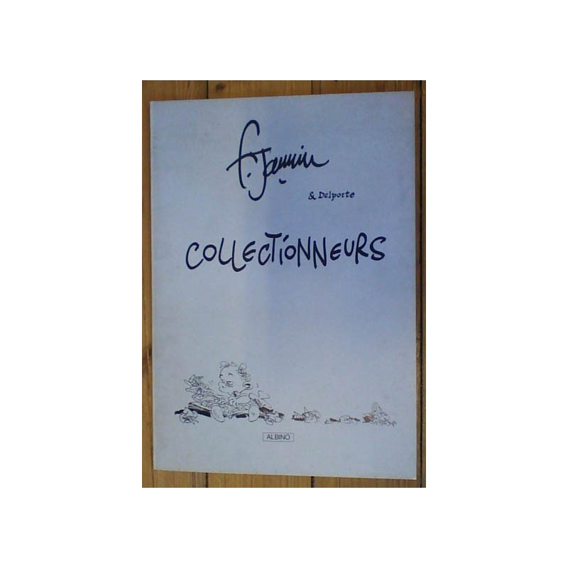 Jannin groot formaat Collectionneurs 1e druk 1984