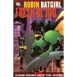 Robin Batgirl Fresh blood TPB Engelstalig first printing 2005