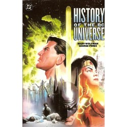 History of the DC Universe TPB Engelstalig first printing 2002