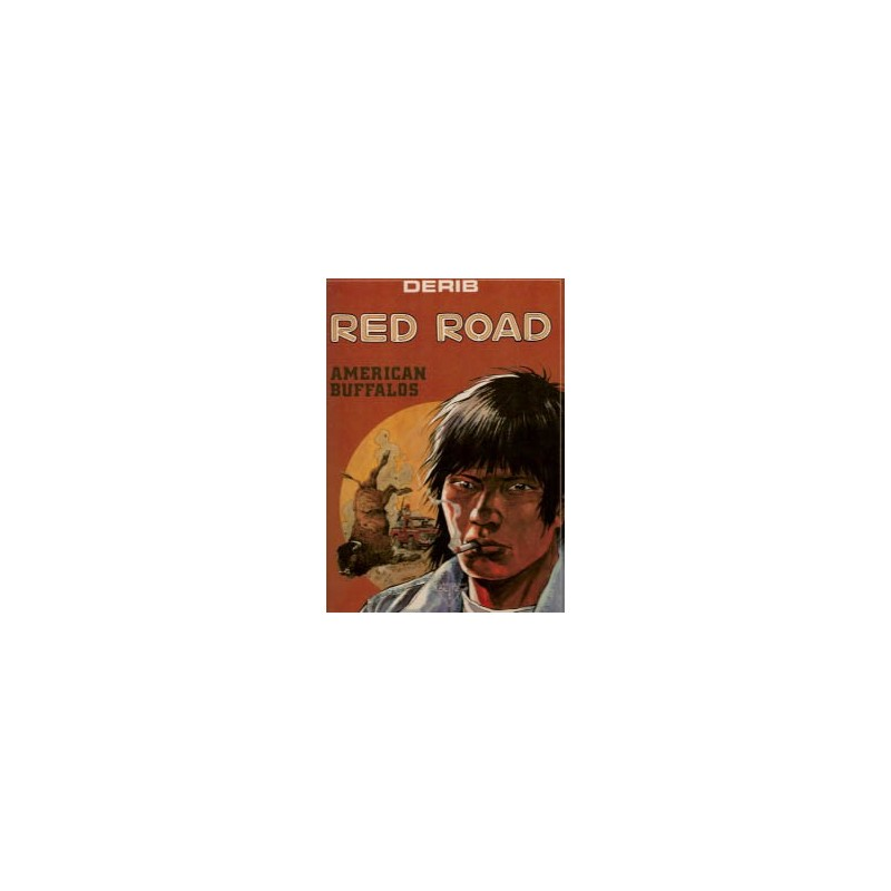 Red Road 01 HC American Buffalos 1e druk 1989