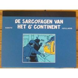 Blake en Mortimer portfolio De sarcofagen van het 6e continent (2) Map met 8 zeefdrukken 2004