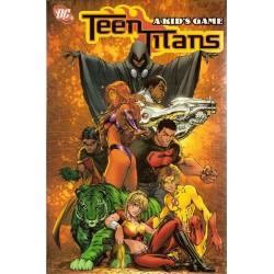 Teen Titans 01 A kid's Game TPB Engelstalig reprint