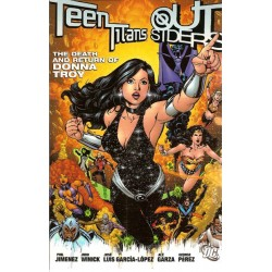 Teen Titans / Outsiders The death of Donna Troy TPB Engelstalig first printing 2006