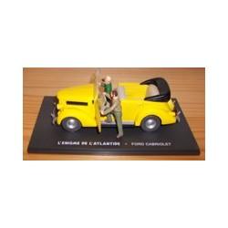 Blake & Morimer figuur De gele auto