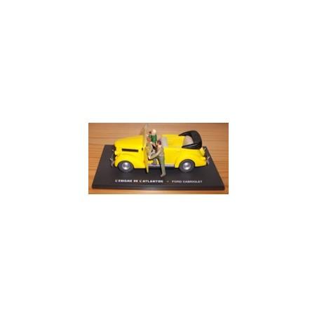 Blake & Mortimer figuur De gele auto