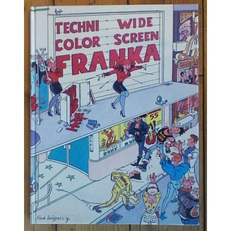 Franka Luxe HC Technicolor wide screen 1e druk 1990