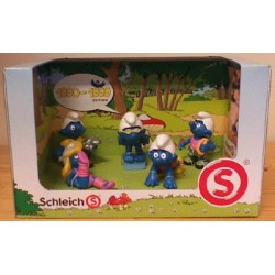 Smurfen poppetjes setje 1990-1999 (5 figuren)