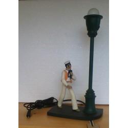 Corto Maltese beeld Ref. 330 Lamp
