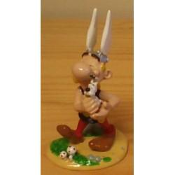 Asterix tinfiguren 4237 Asterix met Idefix