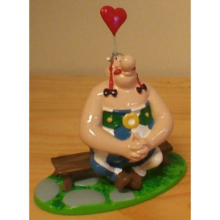 Asterix tinfiguren 4217 Obelix verliefd