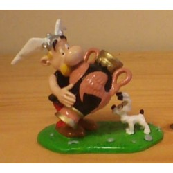 Asterix tinfiguren 4189 Asterix met Griekse vaas