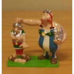 Asterix tinfiguren 2160 pixi-mini Obelix en Romein