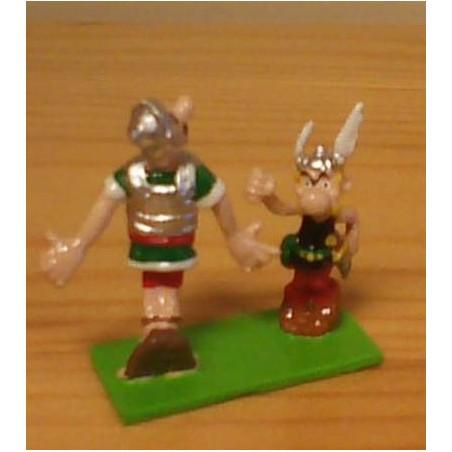 Asterix tinfiguren 2159 pixi-mini Asterix en Romein