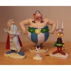 Asterix beeld setje Panoramix, Asterix, Obelix & Idefix
