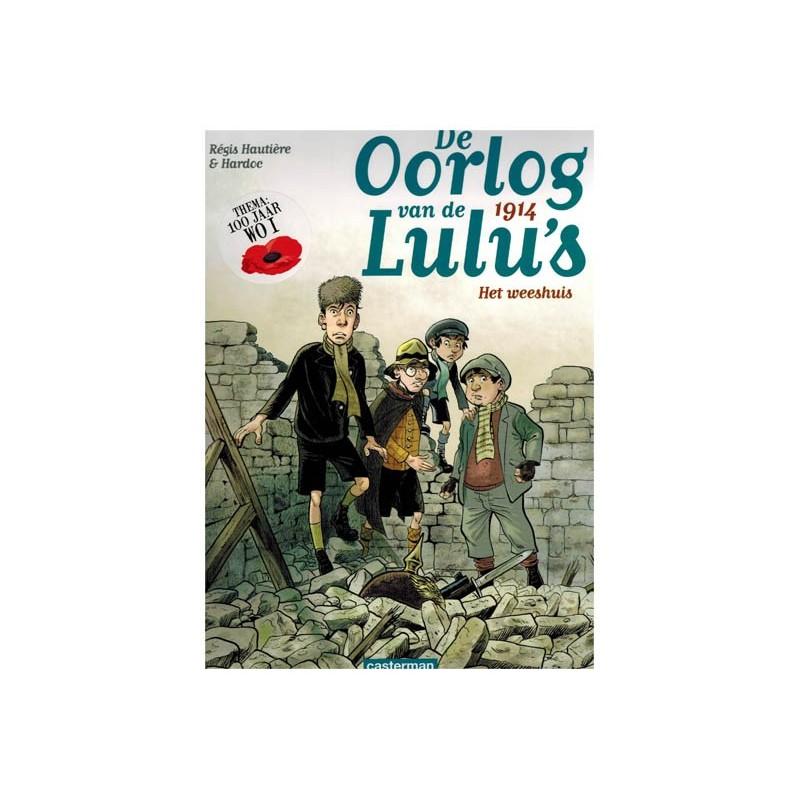 Oorlog van de Lulu's set 1914-1918 deel 1 t/m 5 1e drukken 2014-2018