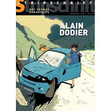 Stripschrift 440 Alain Dodier, Roy Thomas, homostrips