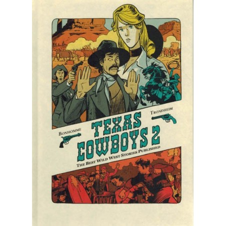 Texas Cowboys 02 HC The best Wild West stories published