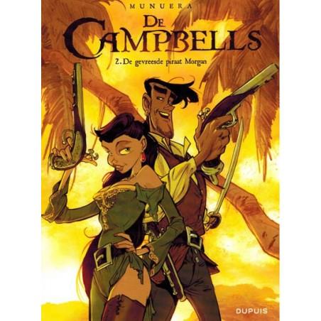Campbells 02 De gevreesde piraat Morgan